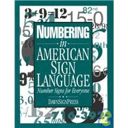 Numbering in American Sign Language : Number Signs for Everyone