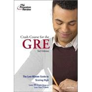 Crash Course for the GRE, 3rd Edition