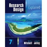 Research Design Explained, 7th Edition