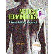 MEDICAL TERMINOLOGY WORD BLDG & 1KEY BB PKG, 6/e
