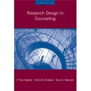 Research Design in Counseling, 3rd Edition
