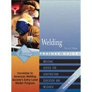 Welding Level 1 Trainee Guide, 3e, Paperback