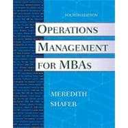 Operations Management for MBAs, 4th Edition