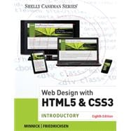 Web Design with HTML & CSS3 Introductory