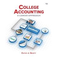 College Accounting A Career Approach (with Quickbooks Accounting 2013 CD-ROM)