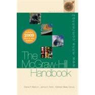 The McGraw-Hill Handbook (hardcover) - 2009 MLA &amp; APA Update, Student Edition