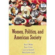 Women, Politicsnd American Society- (Value Pack w/MySearchLab)