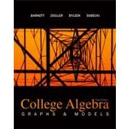 Combo: College Algebra: Graphs & Models with MathZone Access Card