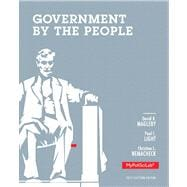 Government by the People, 2012, Election Edition