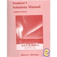 Students Solutions Manual