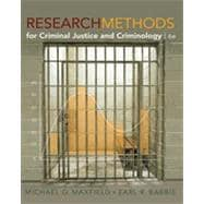 Research Methods for Criminal Justice and Criminology, 6th Edition