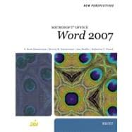 New Perspectives on Microsoft Office Word 2007, Brief