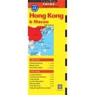 Periplus Hong Kong & Macau Travel Map