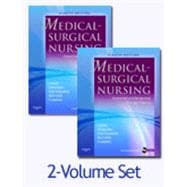 Medical-Surgical Nursing: Assessment and Management of Clinical Problems (Two-Volume Set with CD-ROM)