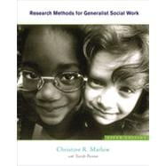 Research Methods for Generalist Social Work, 5th Edition