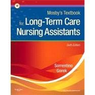 Mosby's Textbook for Long-Term Care Nursing Assistants (Book with CD-ROM)