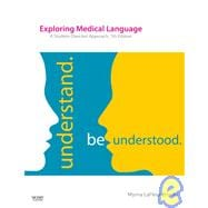 Exploring Medical Language A Student-Directed Approach 7th Ed + Evolve Medical Terminology Online Access Code + Terminology Flash Cards + iTerms: Understand Be Understood