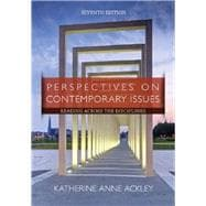 Perspectives on Contemporary Issues: Reading Across the Disciplines, 7th Edition