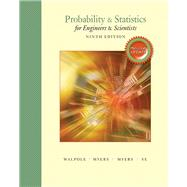 Probability & Statistics for Engineers & Scientists, MyStatLab Update