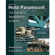 Hold Paramount The Engineer's Responsibility to Society