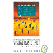 Introduction to Programming with Visual Basic. NET, an and Microsoft VB. NET and Document VB. NET