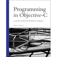 Programming in Objective- C
