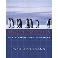 Mathematics for Elementary School Teachers and Activities