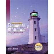 Elementary Statistics: A Step By Step Approach with MathZone and Smart CD
