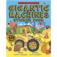 Gigantic Machines Sticker Book