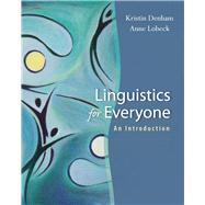 Linguistics for Everyone : An Introduction