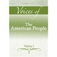 Voices of The American People, Volume 1