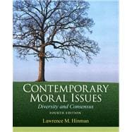 Contemporary Moral Issues Diversity and Consensus Plus MySearchLab with eText -- Access Card Package