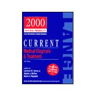 Current Medical Diagnosis and Treatment 2000 : A Lange Medical Book