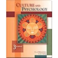 Culture and Psychology (with InfoTrac)