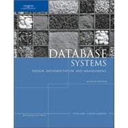 Database Systems Design, Implementation, and Management