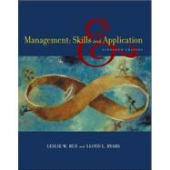 Management : Skills and Application