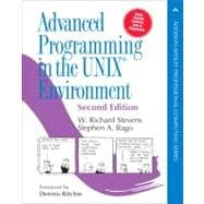 Advanced Programming in the UNIX Environment Paperback Edition