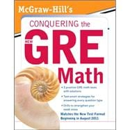 McGraw-Hill's Conquering the New GRE Math McGraw-Hill's Conquering the New GRE Math