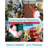 International Relations, 2008-2009