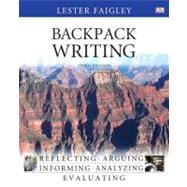 Backpack Writing with NEW MyCompLab with eText -- Access Card Package