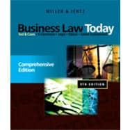 Business Law Today: Comprehensive, 9th Edition