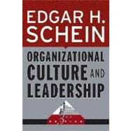 Organizational Culture and Leadership, 3rd Edition