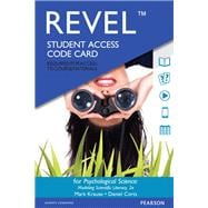 REVEL for Psychological Science Modeling Scientific Literacy -- Access Card