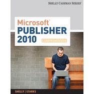 Microsoft Publisher 2010 Comprehensive