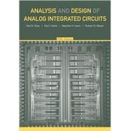 Analysis and Design of Analog Integrated Circuits, 5th Edition