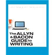 The Allyn & Bacon Guide to Writing PLUS MyWritingLab with Pearson eText -- Access Card Package