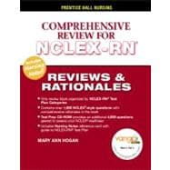 Prentice Hall's Reviews & Rationales Comprehensive NCLEX-RN Review