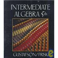Intermediate Algebra with Study Guide Sampler