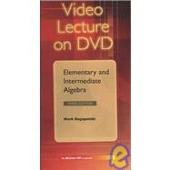 DVD Video Series to accompany Elementary and Intermediate Algebra