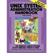 UNIX System Administration Handbook